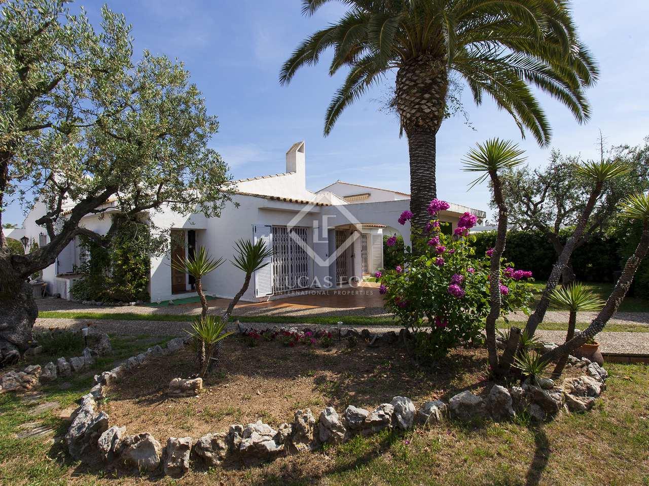 Maison villa de 200m a vendre sant pere ribes avec 1 for Jardin anglais caracteristiques