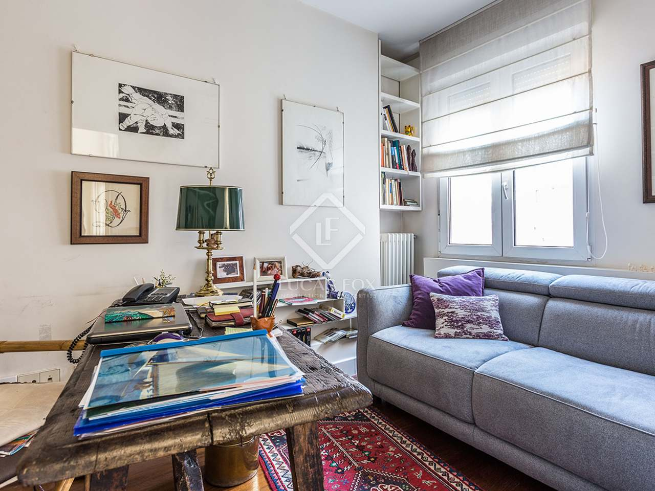 Renovated 2 Bedroom Penthouse With A Terrace For Sale In Salamanca