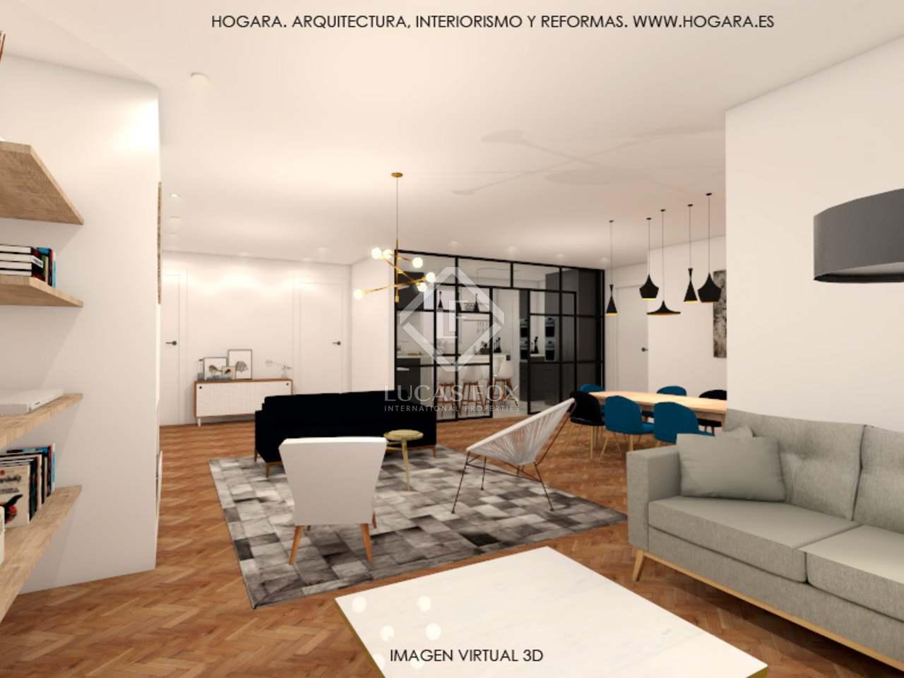 Appartement de 204m a vendre les corts avec 40m terrasse for Appartement avec piscine barcelone