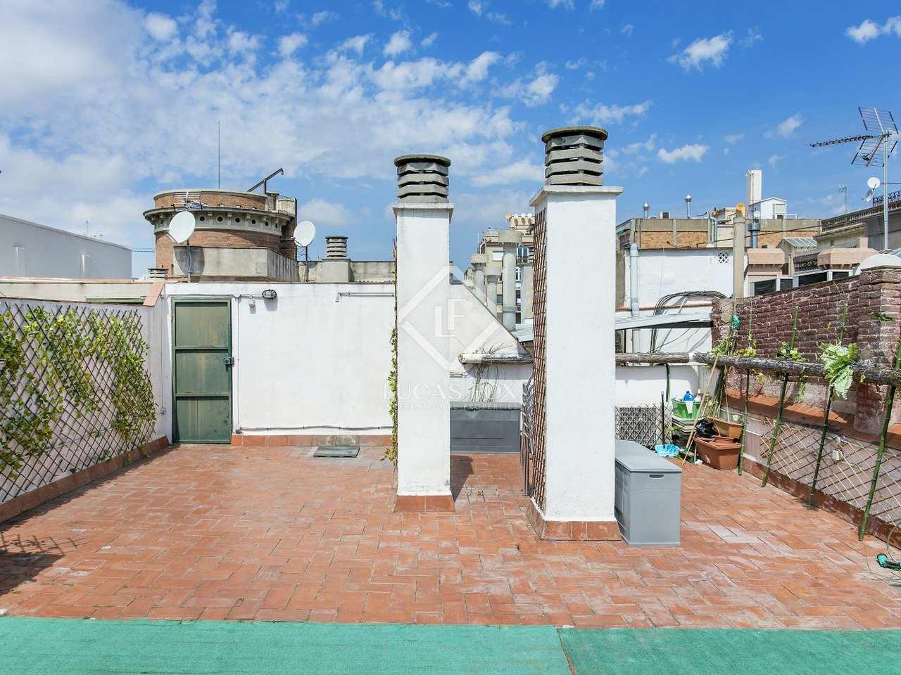 Appartement de 95m a louer eixample droite avec 65m for Appartement a louer a barcelone avec piscine