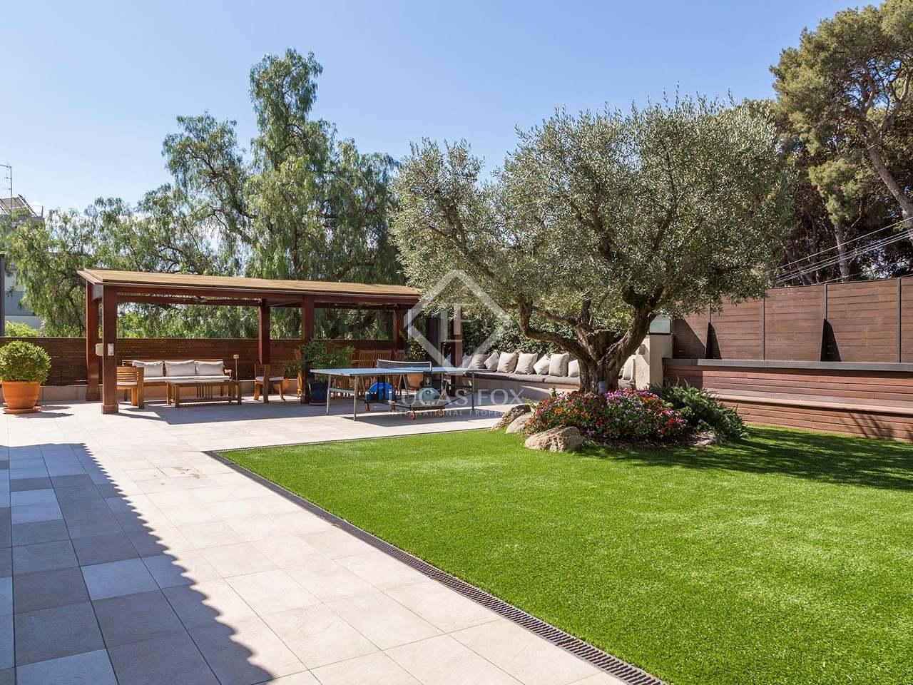 Maison villa de 500m a vendre pedralbes avec 330m de for Piscine w barcelone
