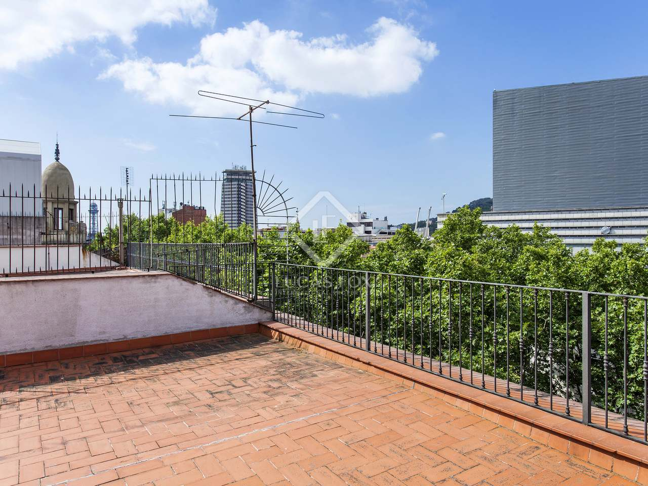Appartement de 128m a vendre g tico avec 113m terrasse for Piscine w barcelone