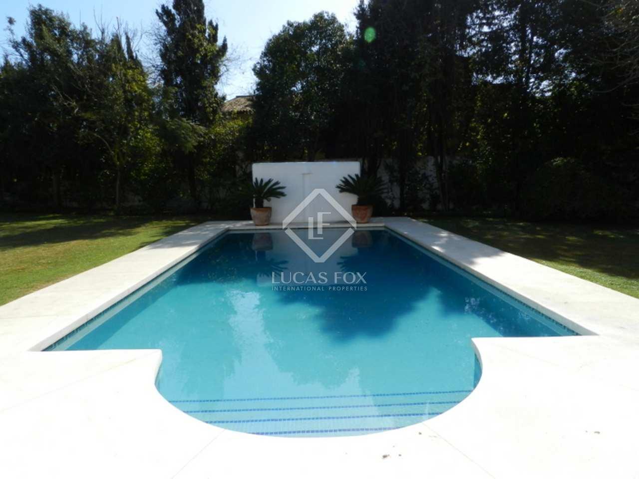 Swimming Pool - 4 Bed Villa Guadalmina Baja, Marbella