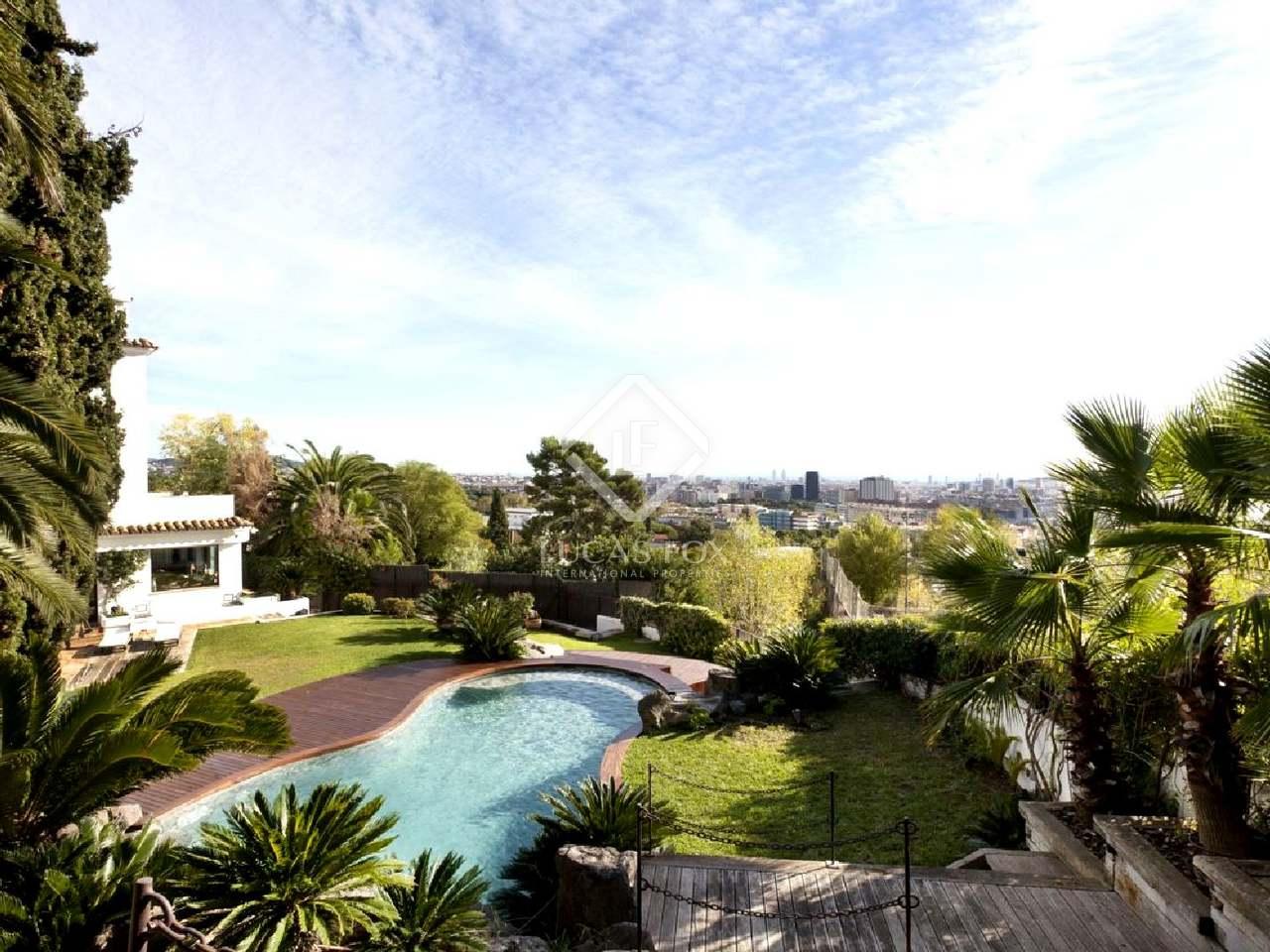 Casa de lujo en alquiler en pedralbes barcelona zona alta for Casa alquiler barcelona jardin