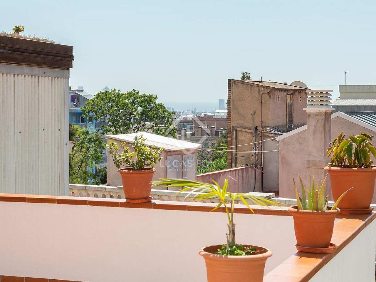 Tico de 34m con terraza en venta en gr cia barcelona - Atico terraza barcelona ...