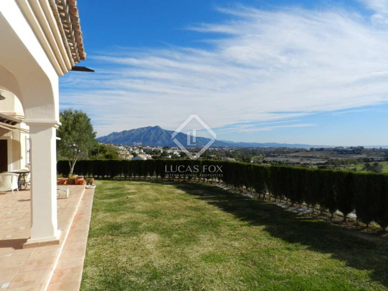 Garden - 5 bed Villa, El Paraiso Estepona