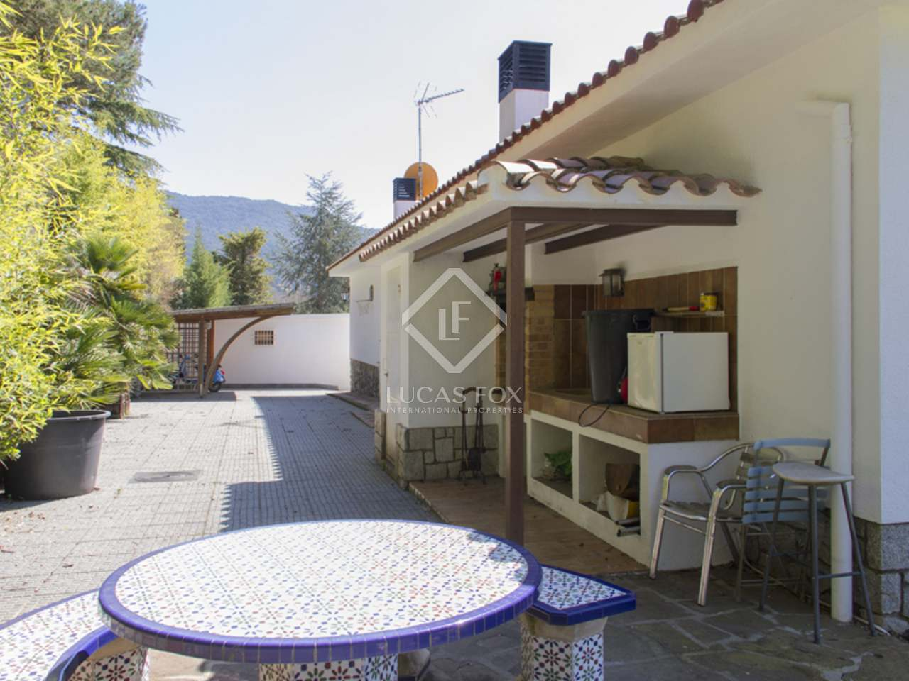 Mediterranean style villa for sale in vallromanes spain Mediterranean home decor for sale