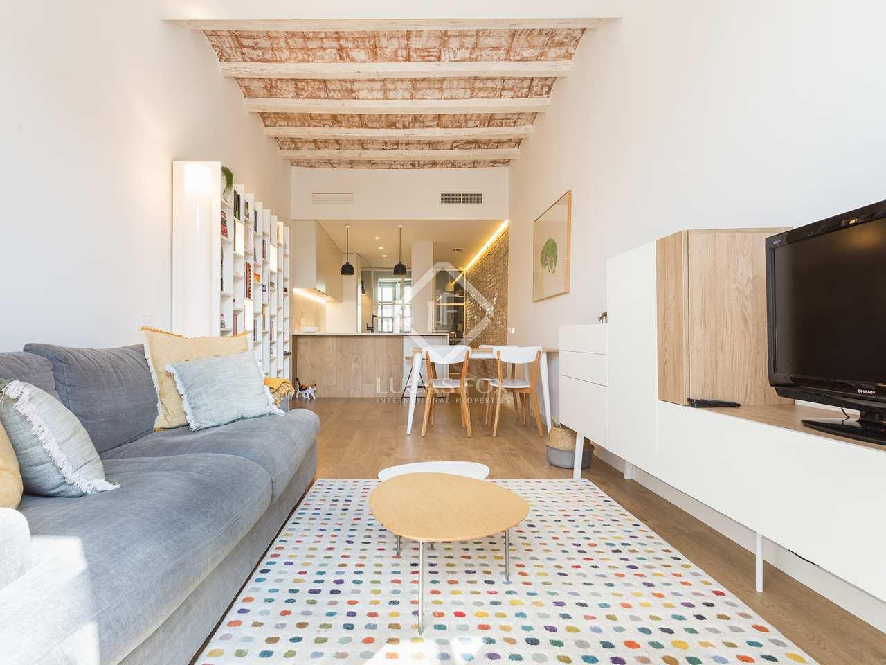 Appartement de 69m a vendre gr cia barcelone for Appartement avec piscine barcelone
