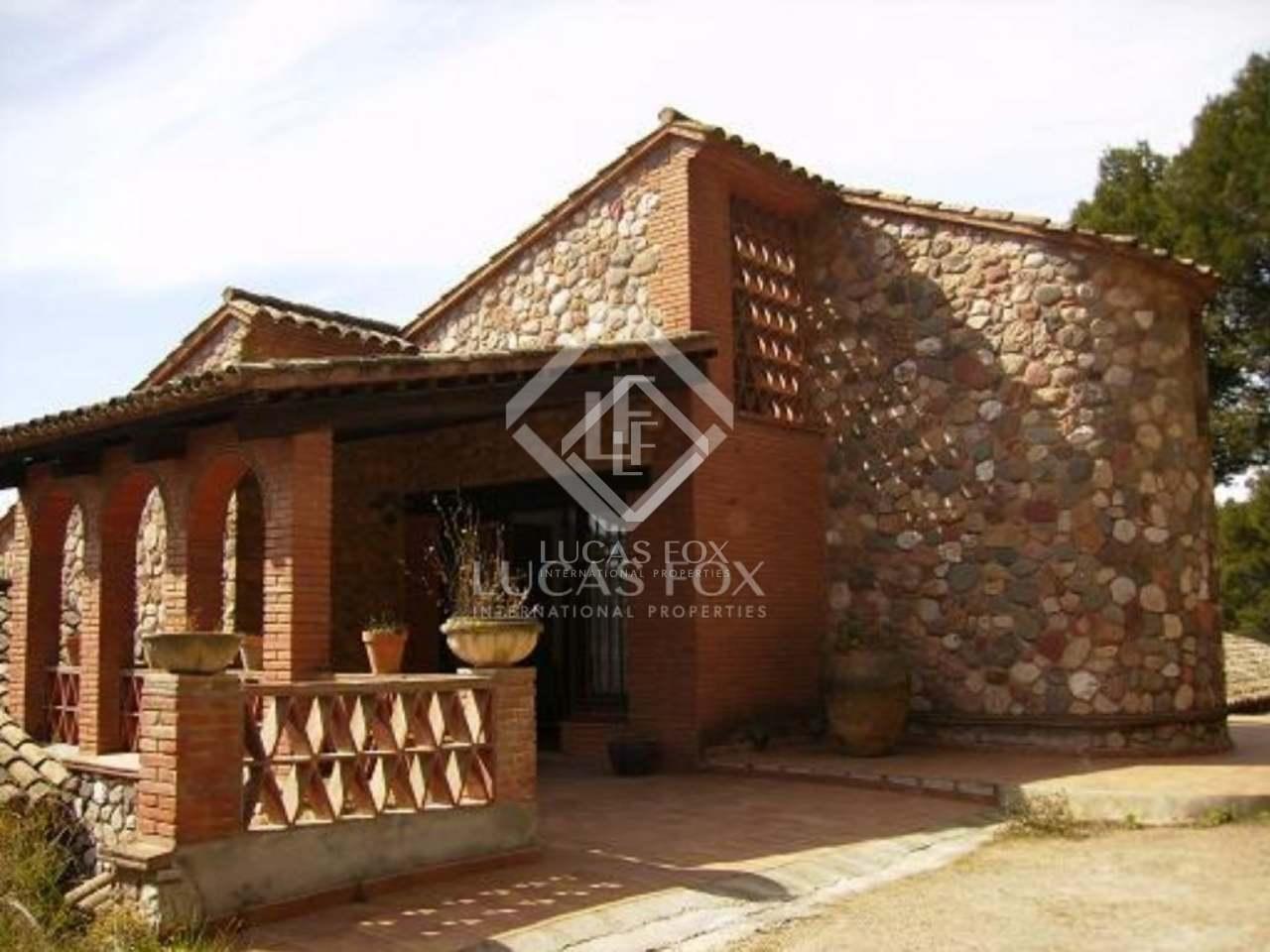 Mas a en alquiler cerca de sant cugat y barcelona - Casas en alquiler cerca de barcelona ...