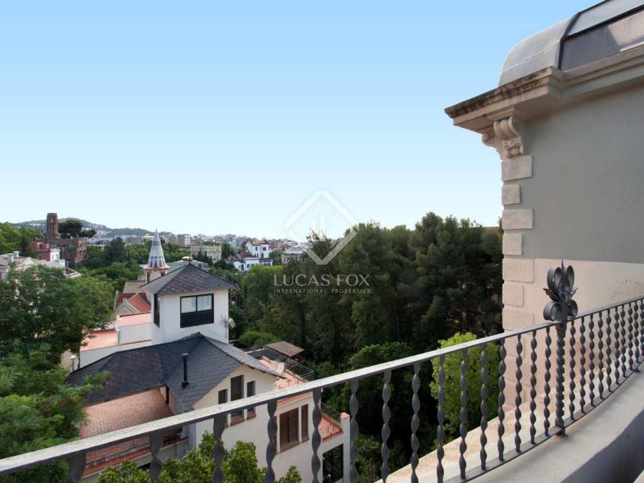 Casa modernista en la prestigiosa zona alta de barcelona - Casa modernista barcelona ...