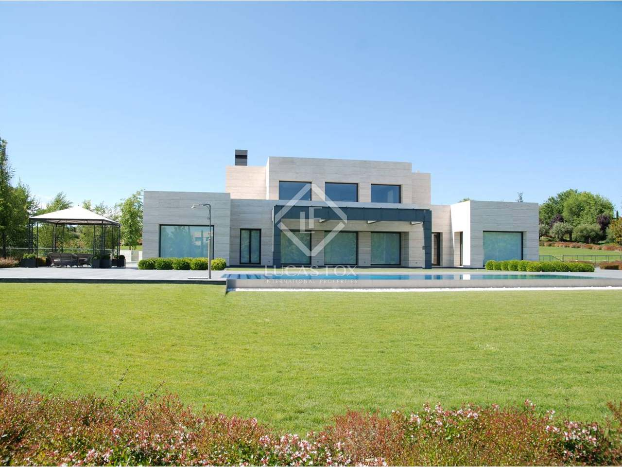 Casa de lujo en venta en la finca madrid - Campings de lujo en espana ...