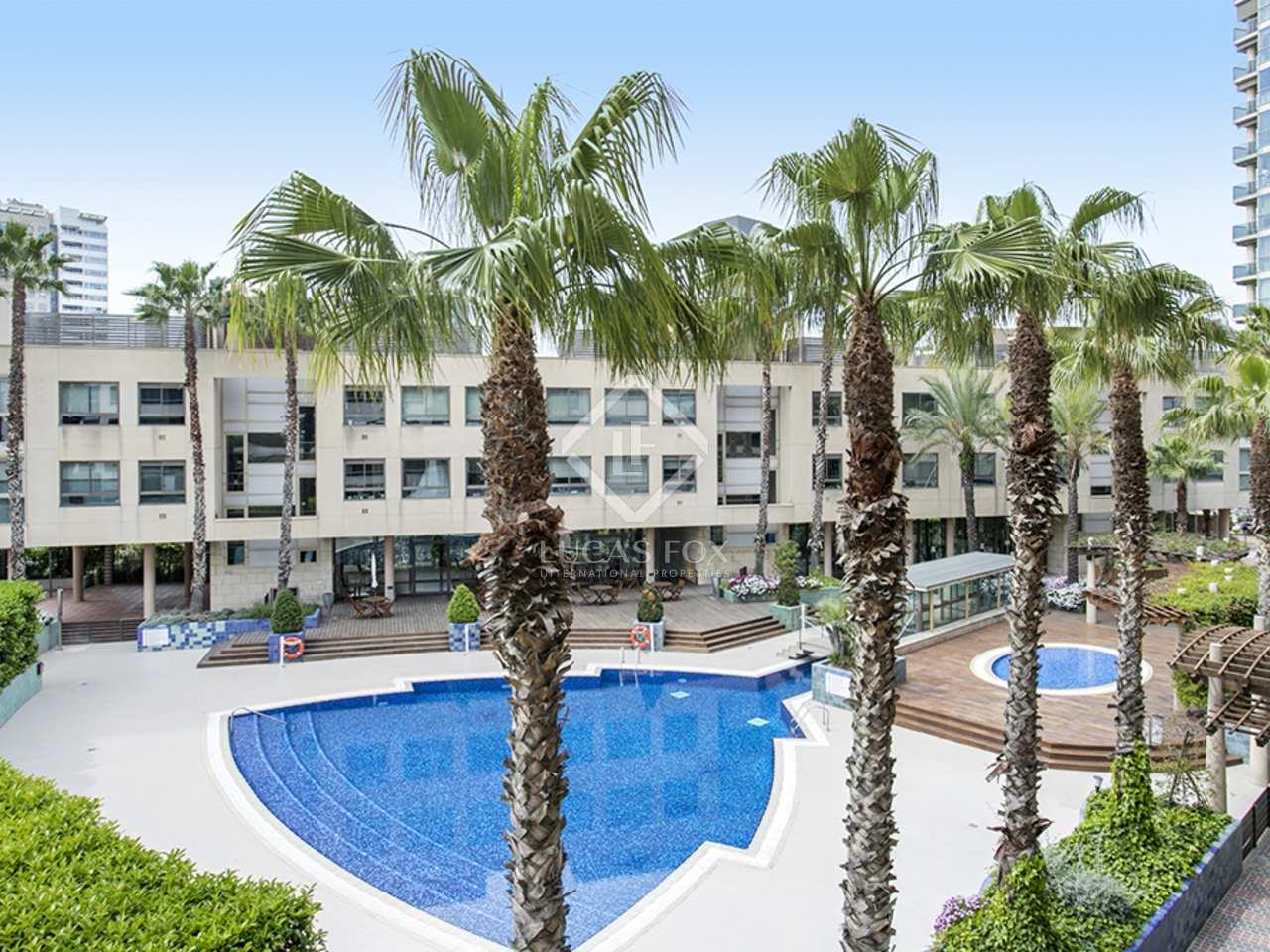 Appartement de 81m a louer diagonal mar avec 16m terrasse for Appartement barcelone piscine