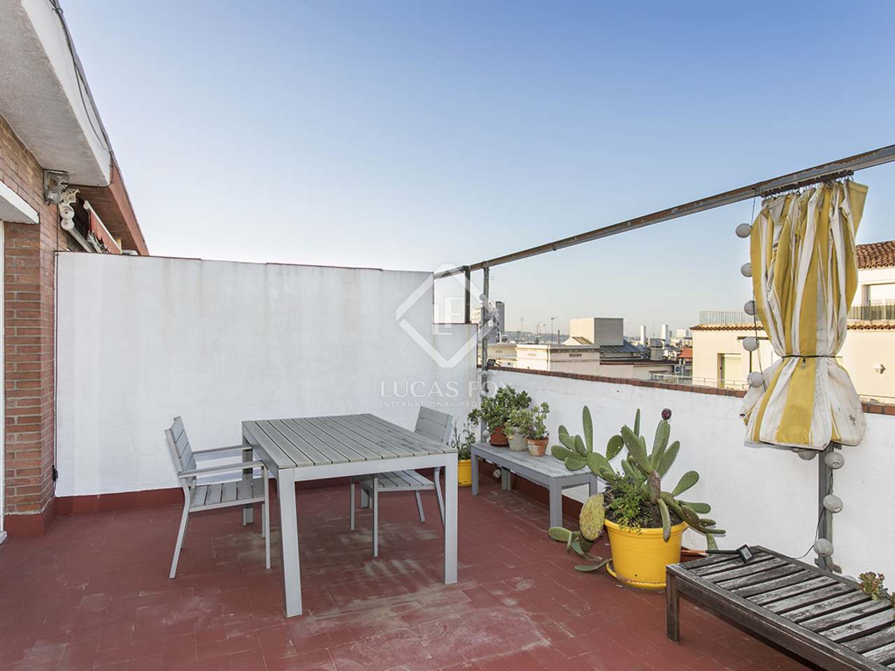Tico con terraza en alquiler en sant gervasi galvany - Atico terraza barcelona ...