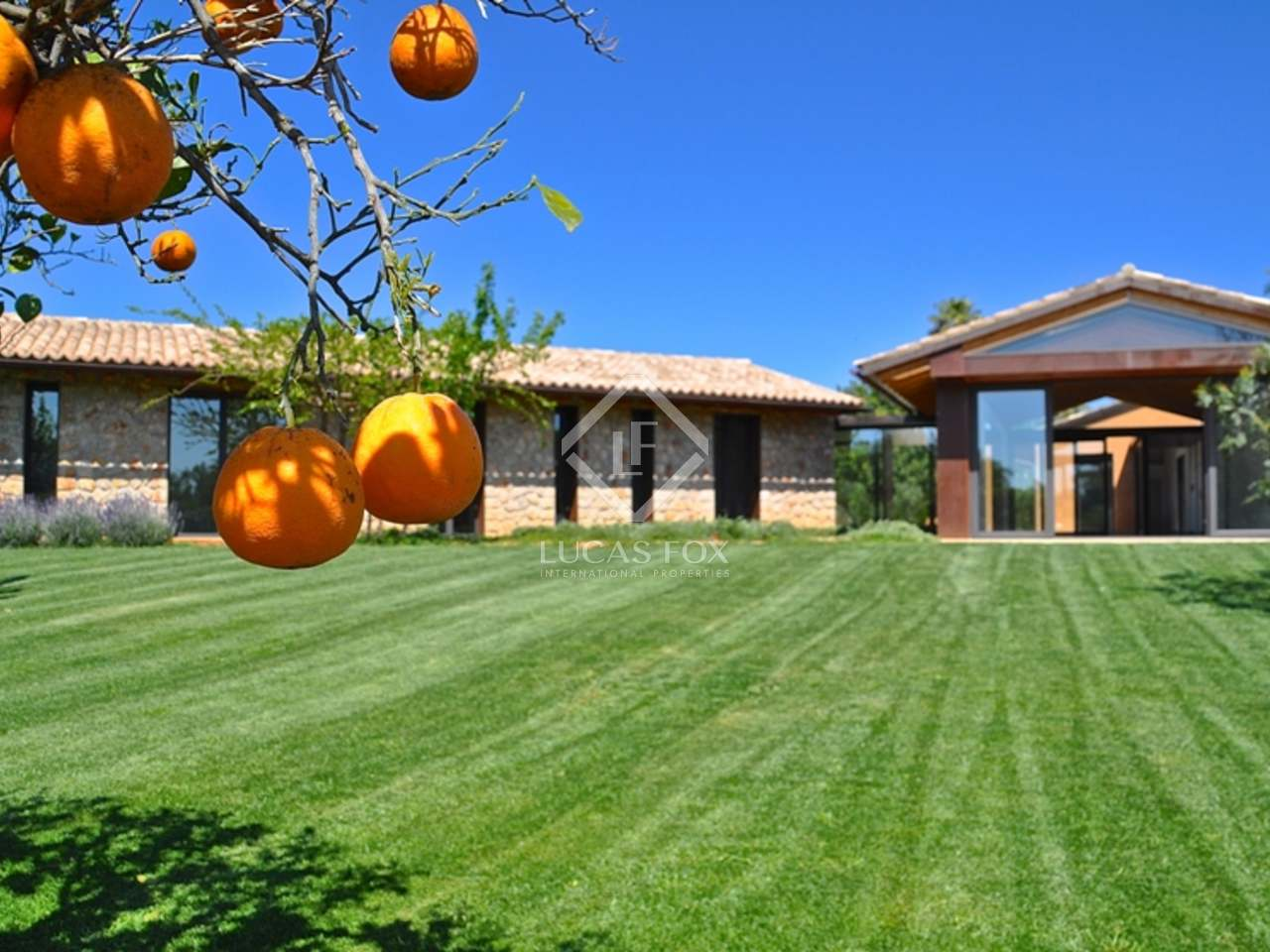 Villa de nueva construcci n en venta en el centro de mallorca - Empresas de construccion en mallorca ...
