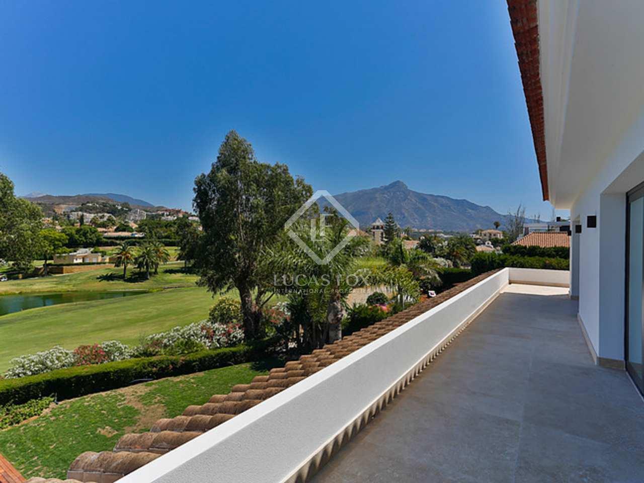 446m haus villa mit 226m terrasse zum verkauf in nueva. Black Bedroom Furniture Sets. Home Design Ideas