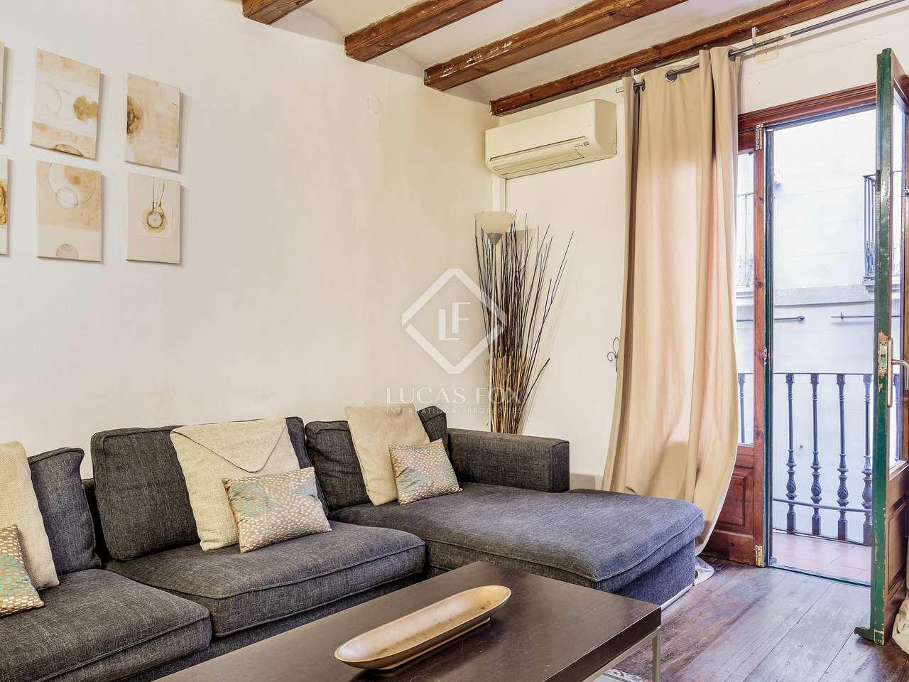 Apartamento precioso en venta en la ciutat vella de barcelona for Licencia apartamento turistico madrid