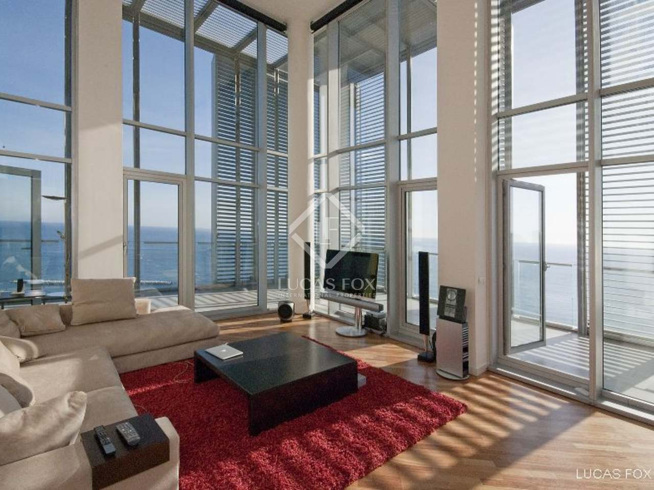 th floor duplex penthouse apartment for sale in diagonal mar barcelona property to buy with