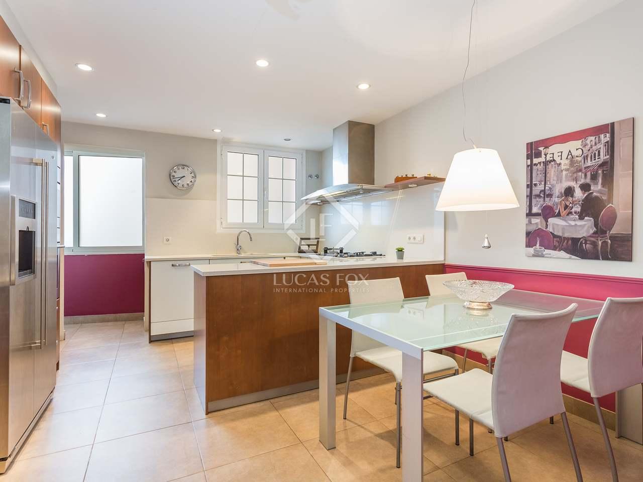 Apartamento de 192m con terraza en venta en el putxet - Zona alta barcelona ...