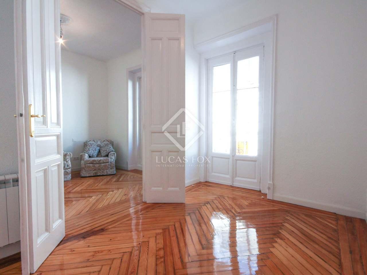 Piso de 110 m en alquiler en justicia madrid for Piso 3 habitaciones madrid