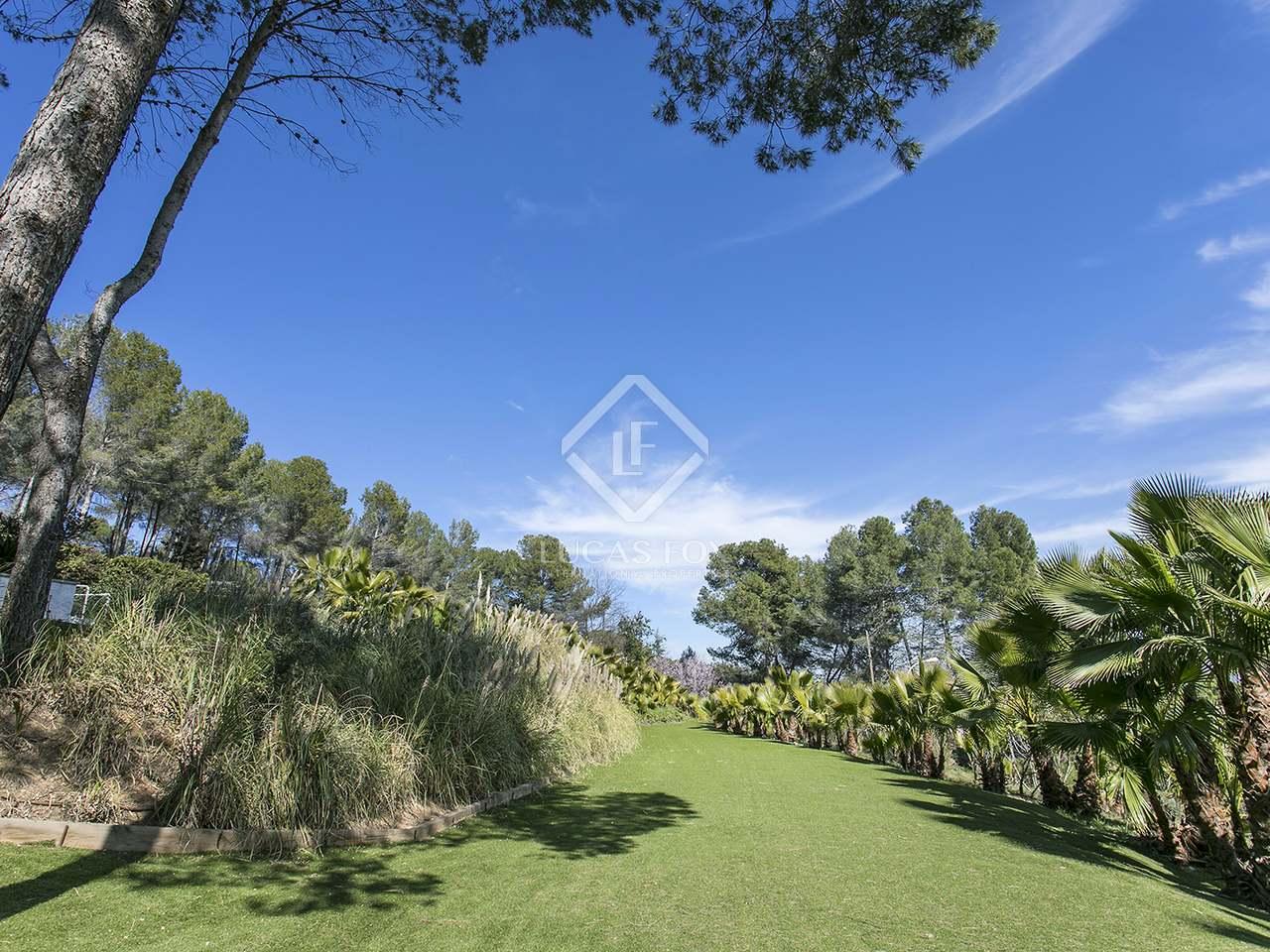 excellent 4 slaapkamer huis villa te huur in bellaterra barcelona
