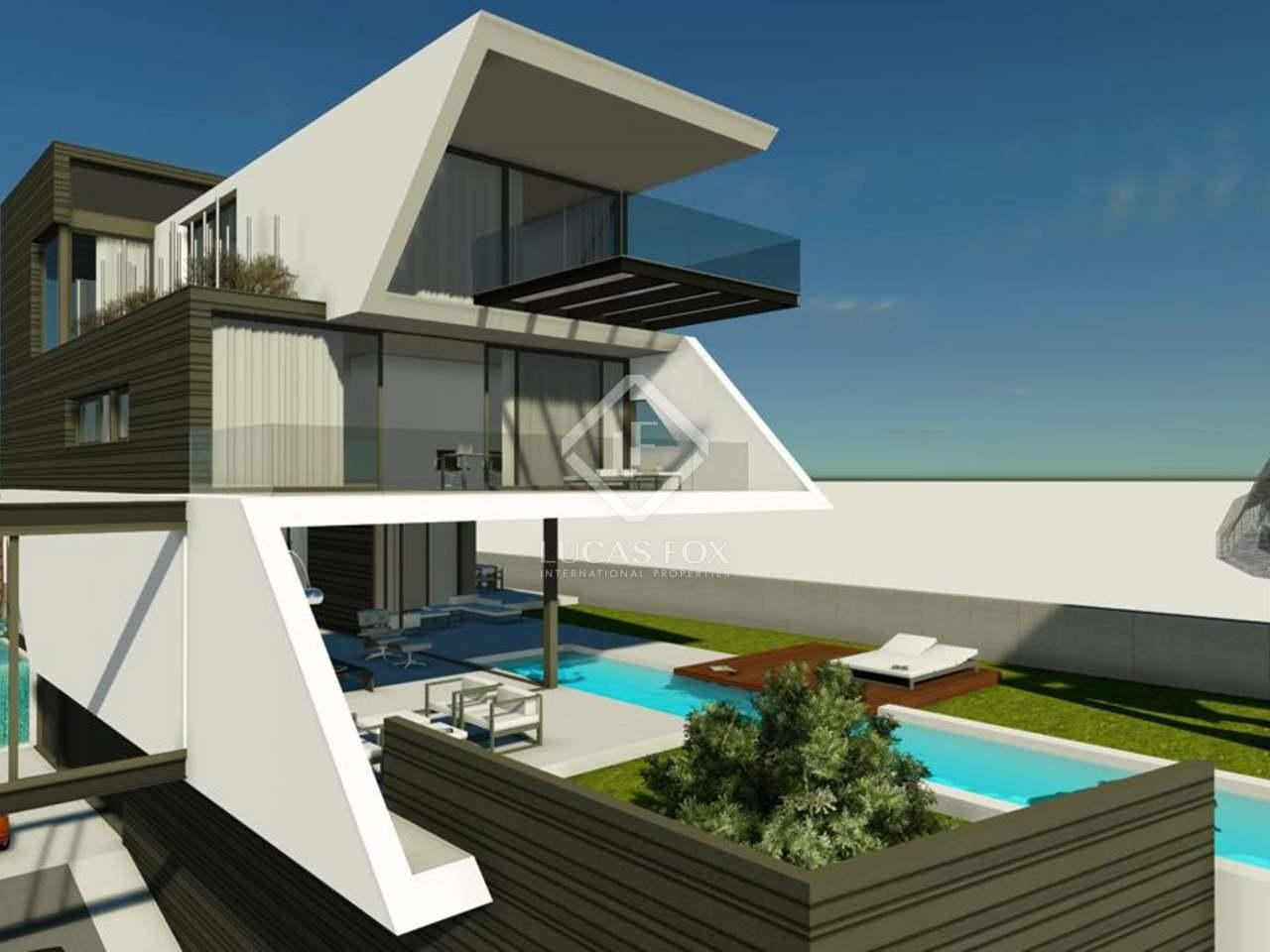 Designer house for sale sant cugat near barcelona for Casas con piscina baratas barcelona