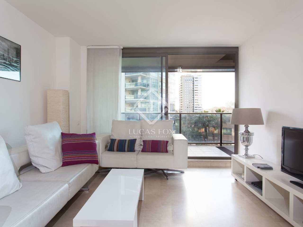 Appartement en vente avec vue sur la mer diagonal mar barcelone - Appartement vente barcelone ...
