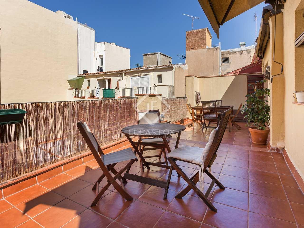 Tico de 55m con terrazas en venta en gr cia for Terrazas 1280 a
