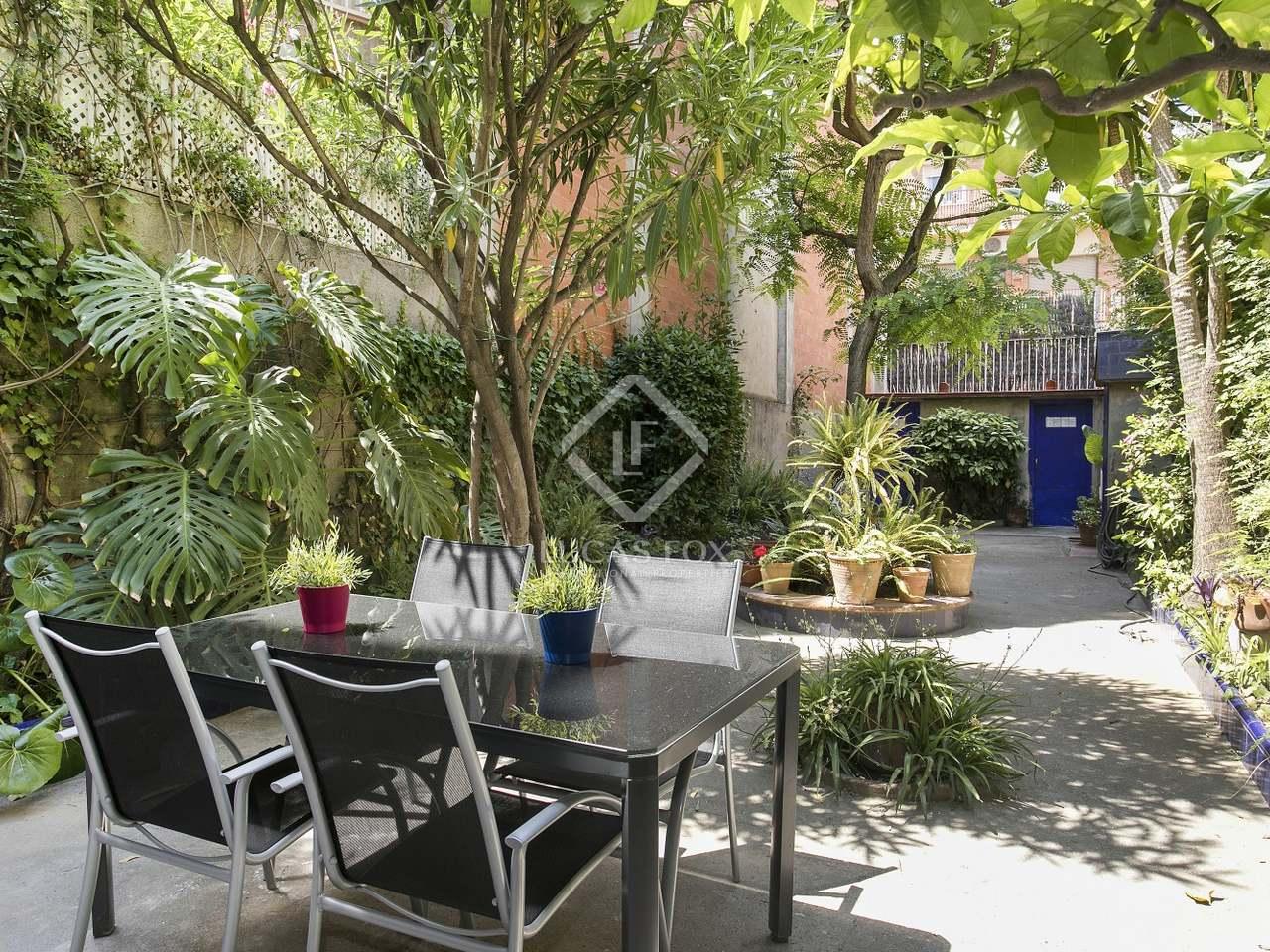 Apartamento de 130m con 90m de jard n y p rquing en for Alquiler bajo con jardin madrid