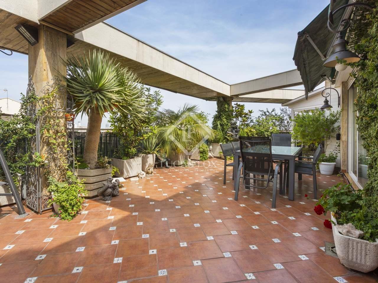 Tico de 137m con terraza en venta en el eixample izquierdo - Atico eixample barcelona ...
