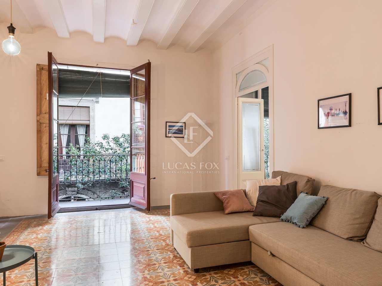 Piso de 110m con una terraza de 50m en venta en el g tico - Pisos para una persona madrid ...