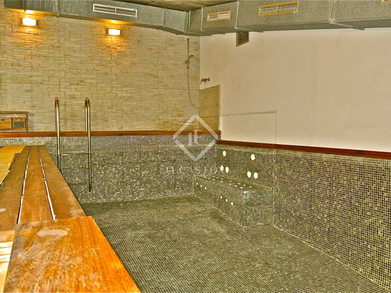 Fabulous alpine chalet with heated pool for sale in ordino for Heated pools for sale