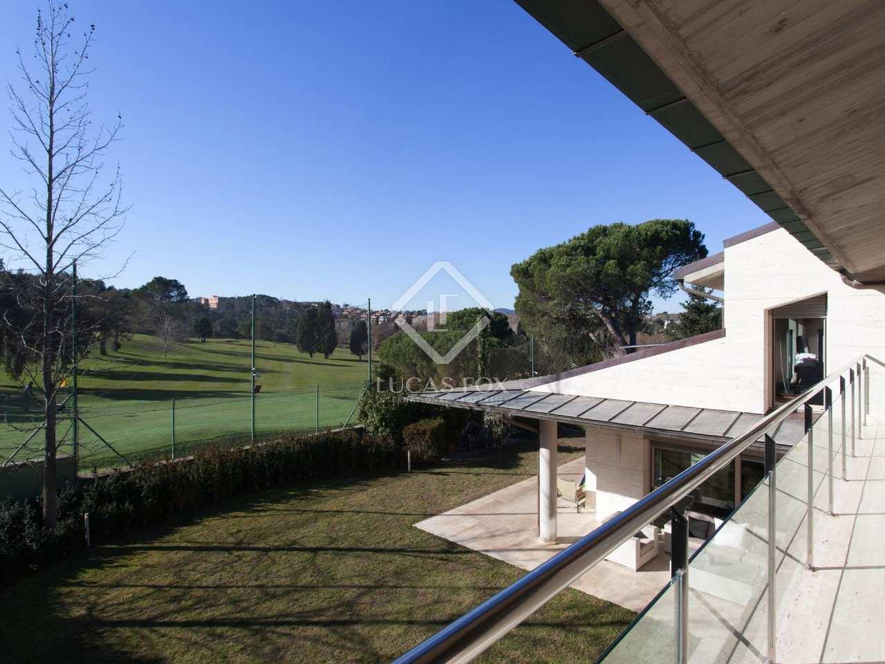 Maison villa de 1 238m a vendre sant cugat barcelone - Piscines sant cugat ...