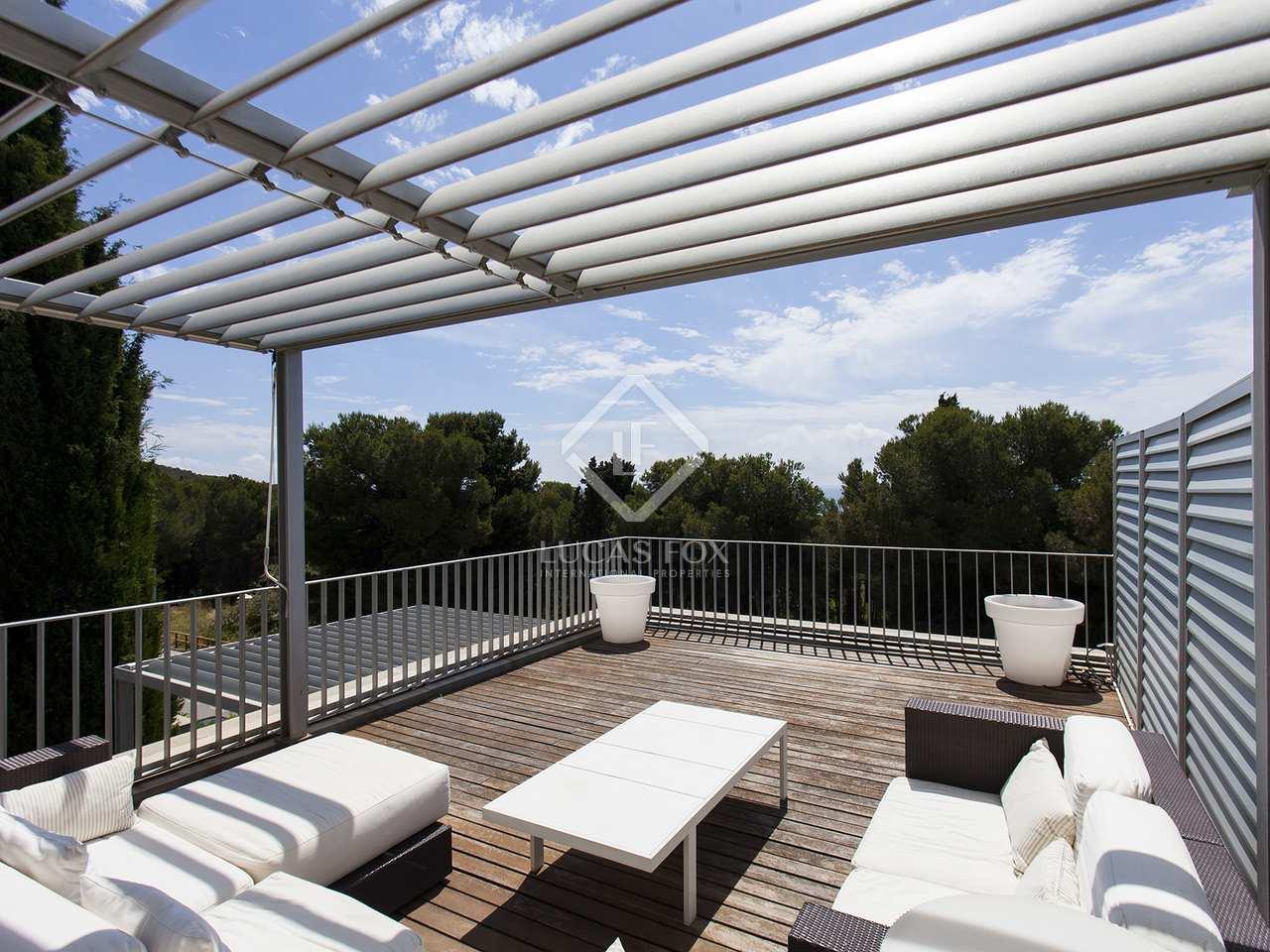 Tico d plex con 3 terrazas en venta en els cards for Terrazas 1280 a