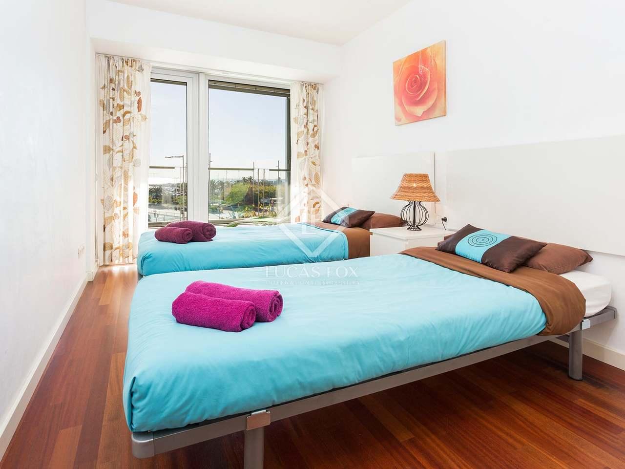 Appartement avec vue sur la mer en vente diagonal mar for Appartement avec piscine barcelone