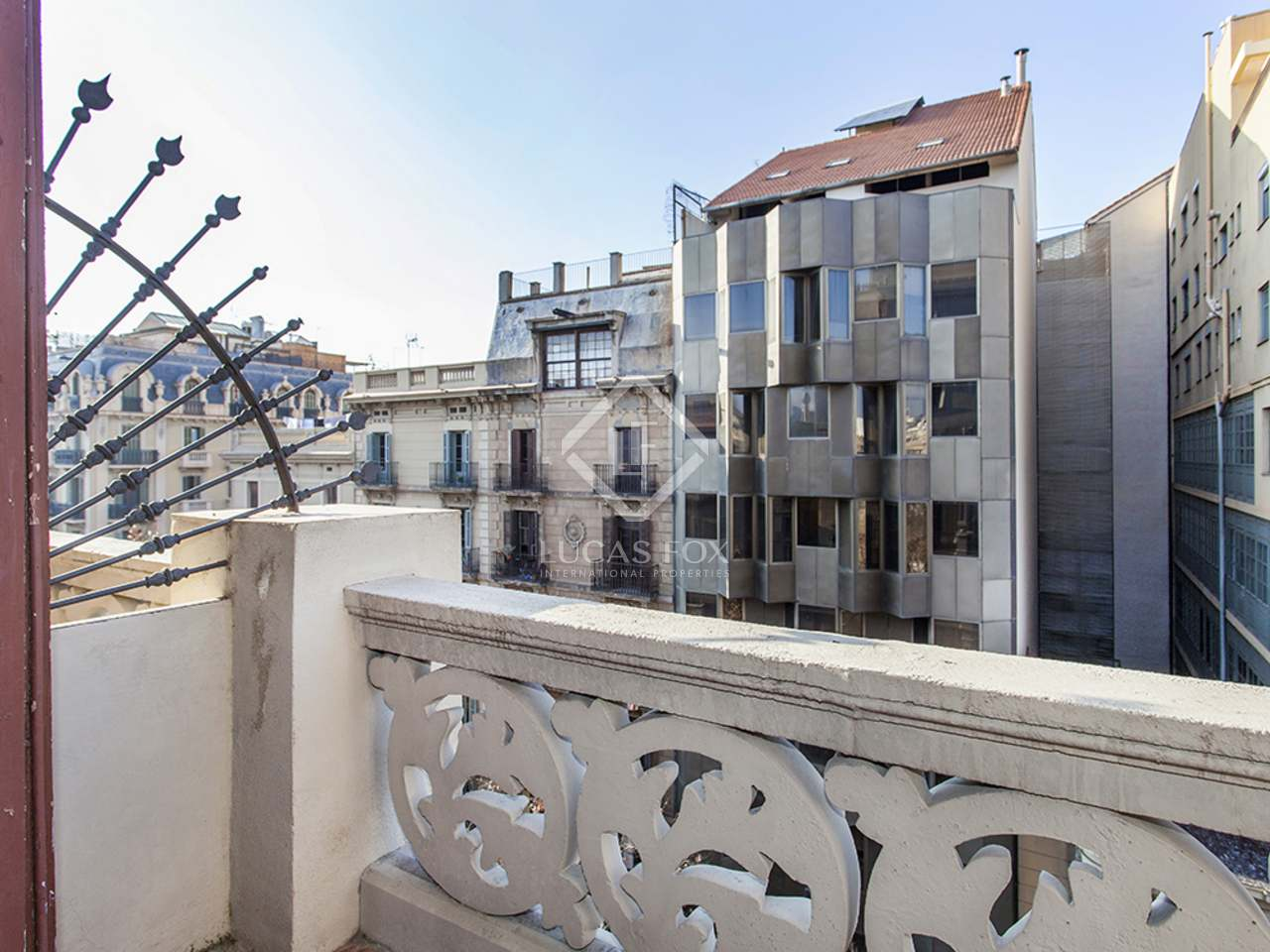 Appartement de 178m a vendre eixample droite avec 8m terrasse - Acheter appartement a barcelone ...
