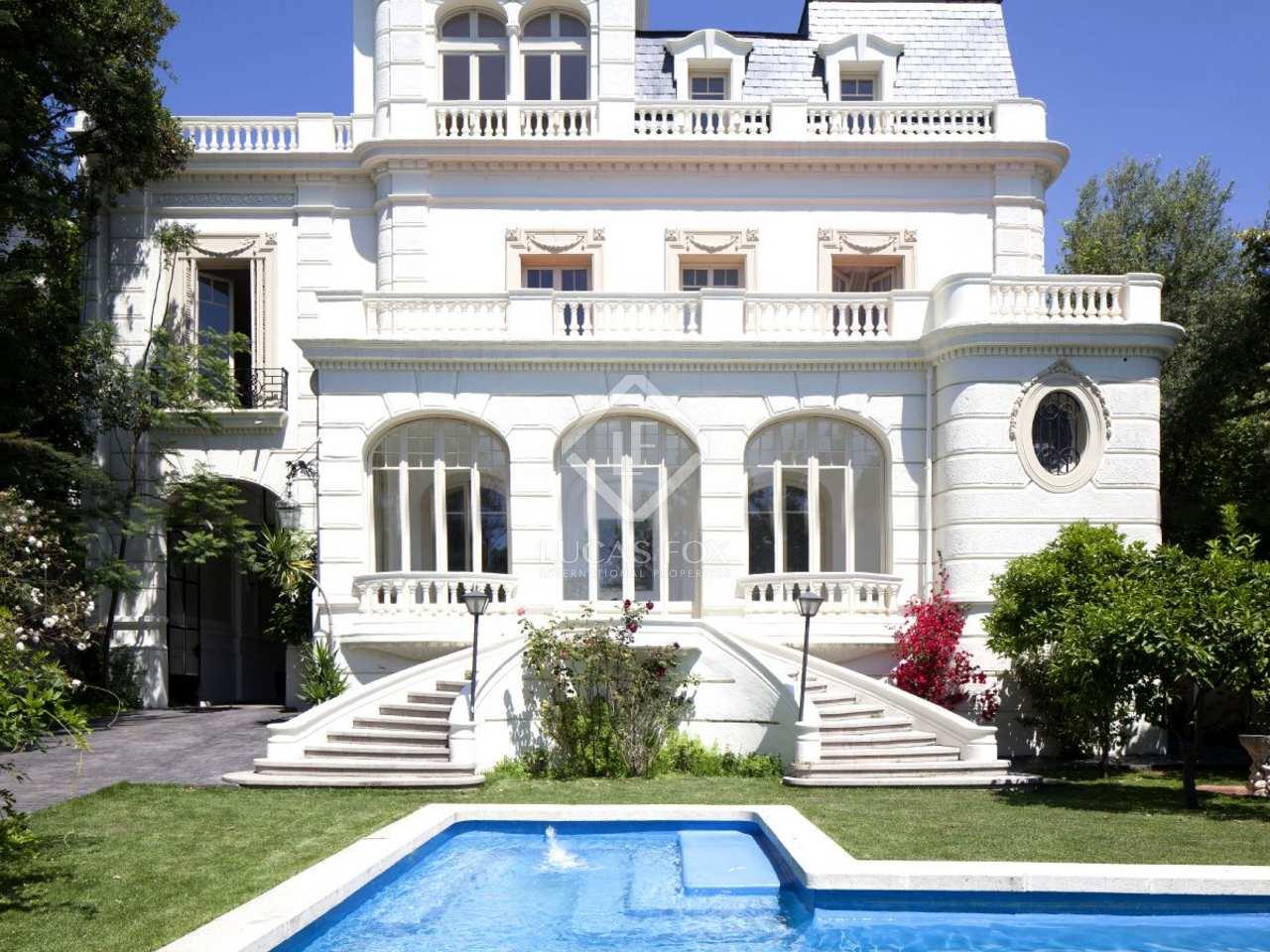 Mansi n en venta en pedralbes zona alta barcelona - Zona alta barcelona ...