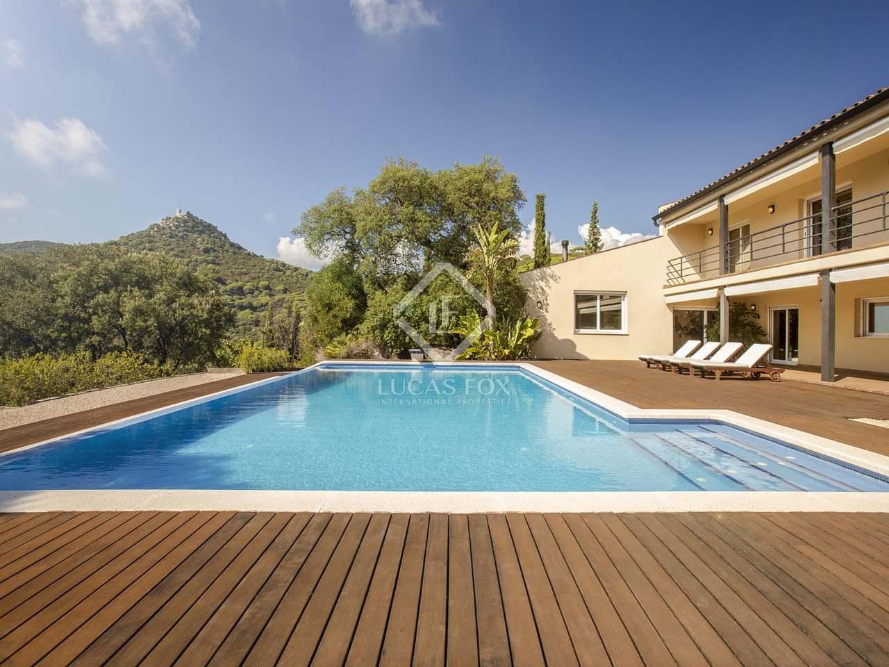 Villa de 4 dormitorios con piscina en venta en cabrera - Piscina cabrera de mar ...