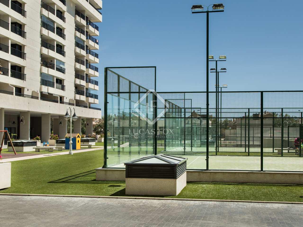 Piso de 61m con terraza y piscina en venta en patacona for Piscina patacona