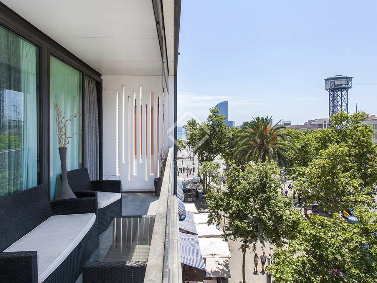 Apartamento de lujo en primera l nea en venta en la barceloneta - Apartamentos en la barceloneta ...