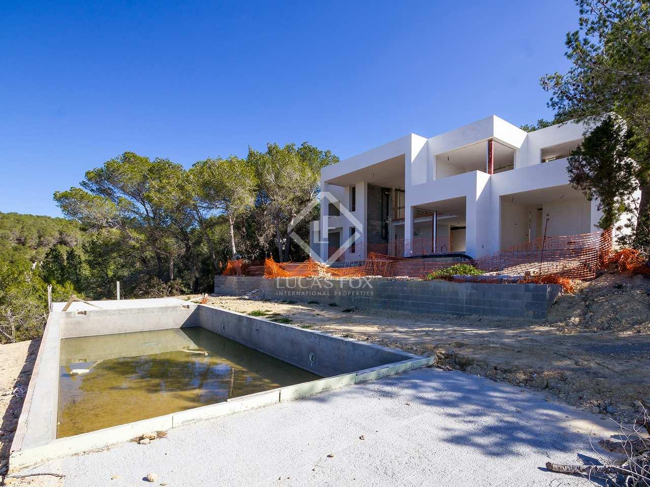 Projet de construction neuf en vente cala salada ibiza for Vente projet de construction