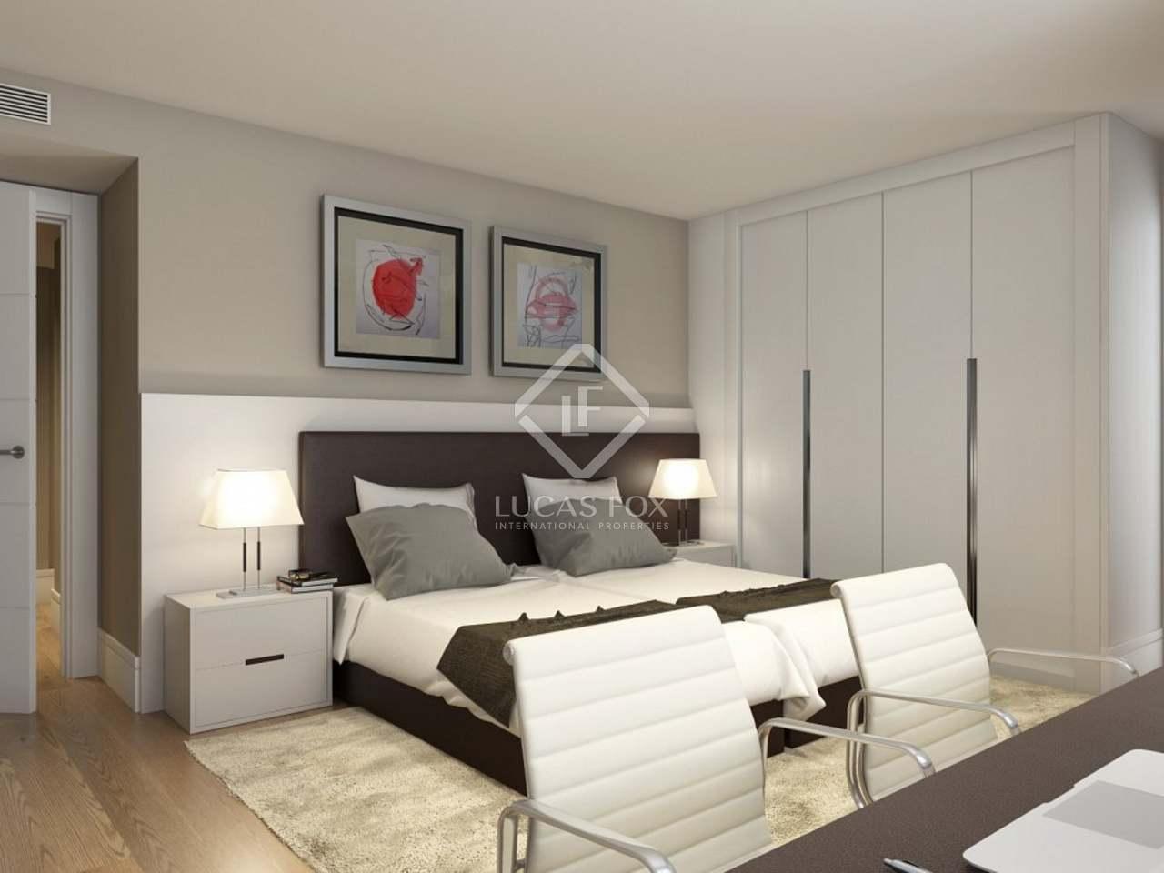 Tico Nuevo De 3 Dormitorios Con Terraza Madrid # Muebles Serrano Castelldefels