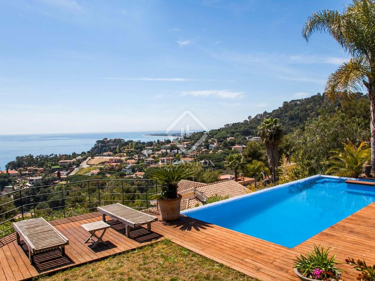 Villa de lujo a la venta en blanes en la costa brava espa a - Camping de lujo en espana ...