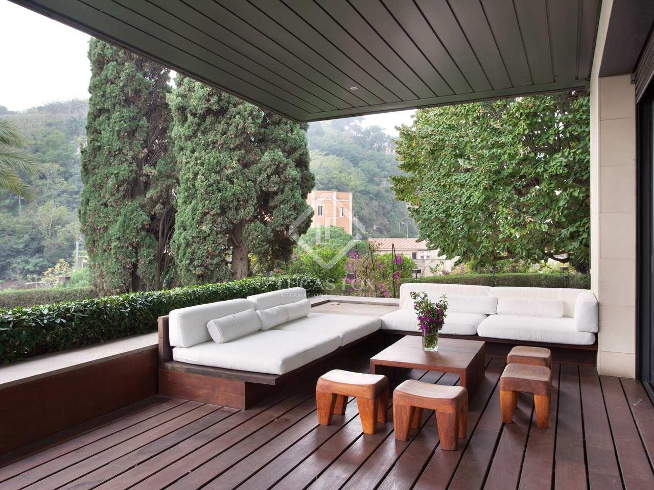 Casa de 585m con 548m de jard n en alquiler en sarri for Alquiler casa jardin barcelona