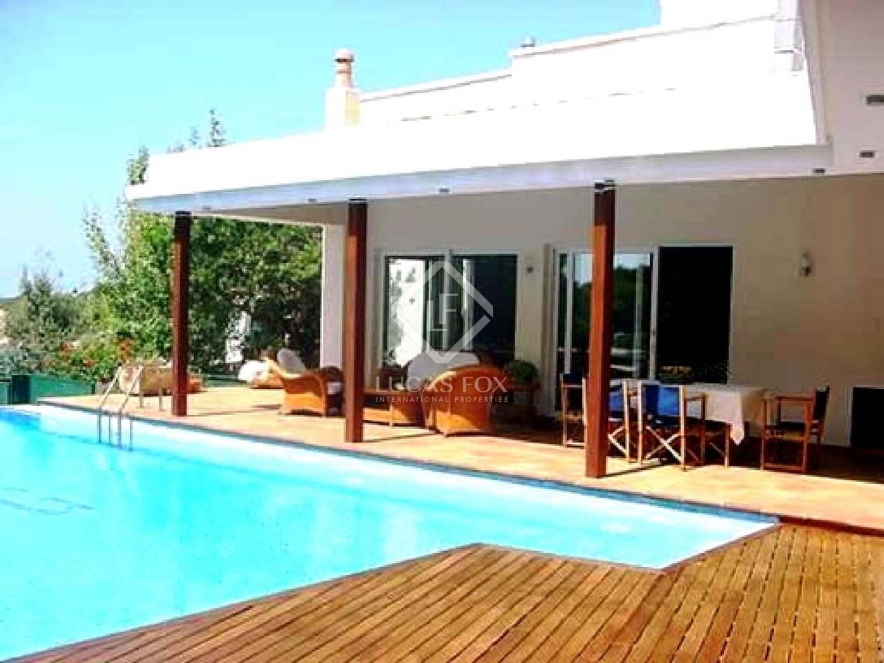 Villa de primera l nea de costa en venta en el oeste de menorca - Casas de lujo en menorca ...