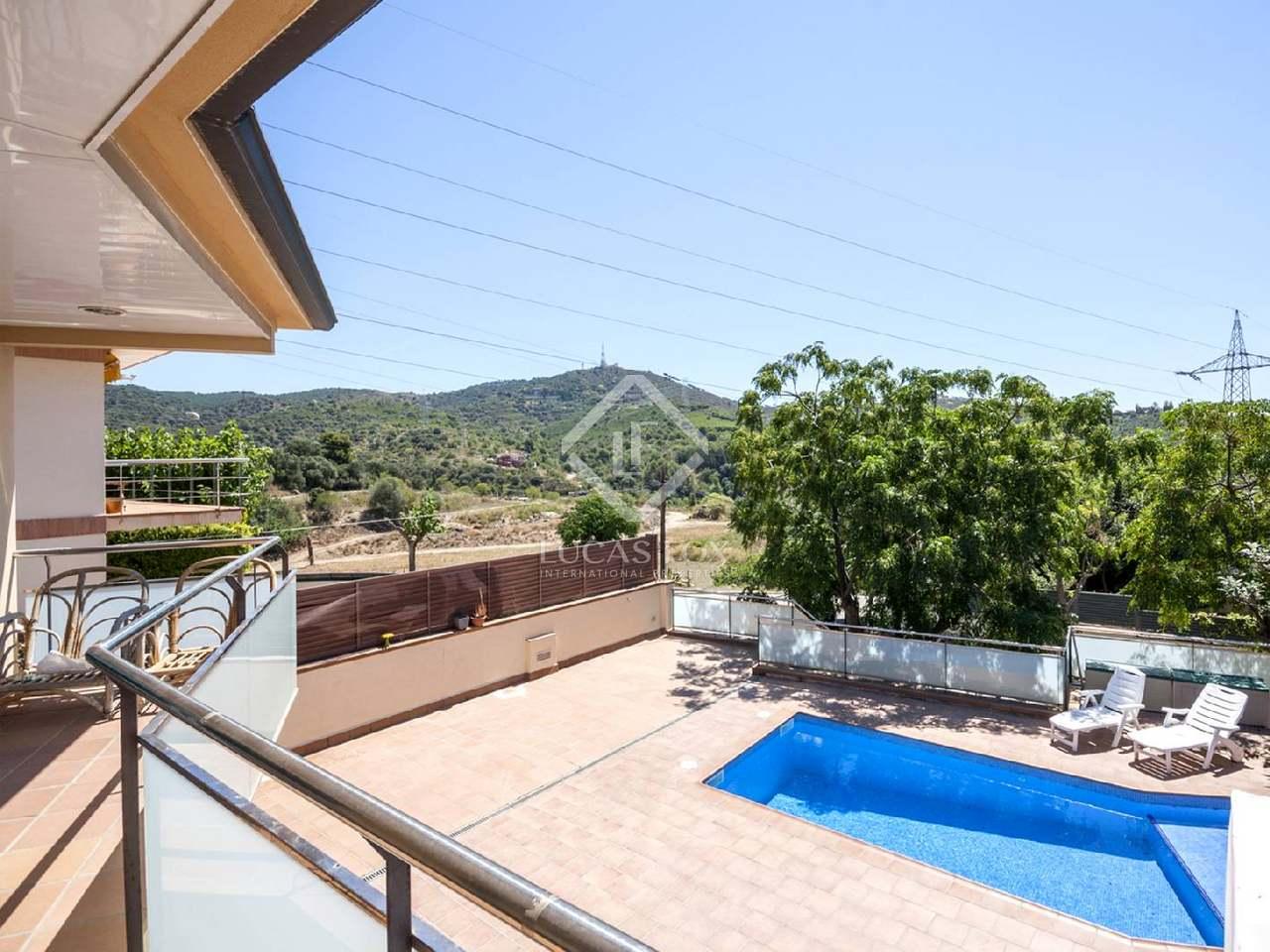 Maison individuelle louer 10 minutes de barcelone - Location maison piscine barcelone ...