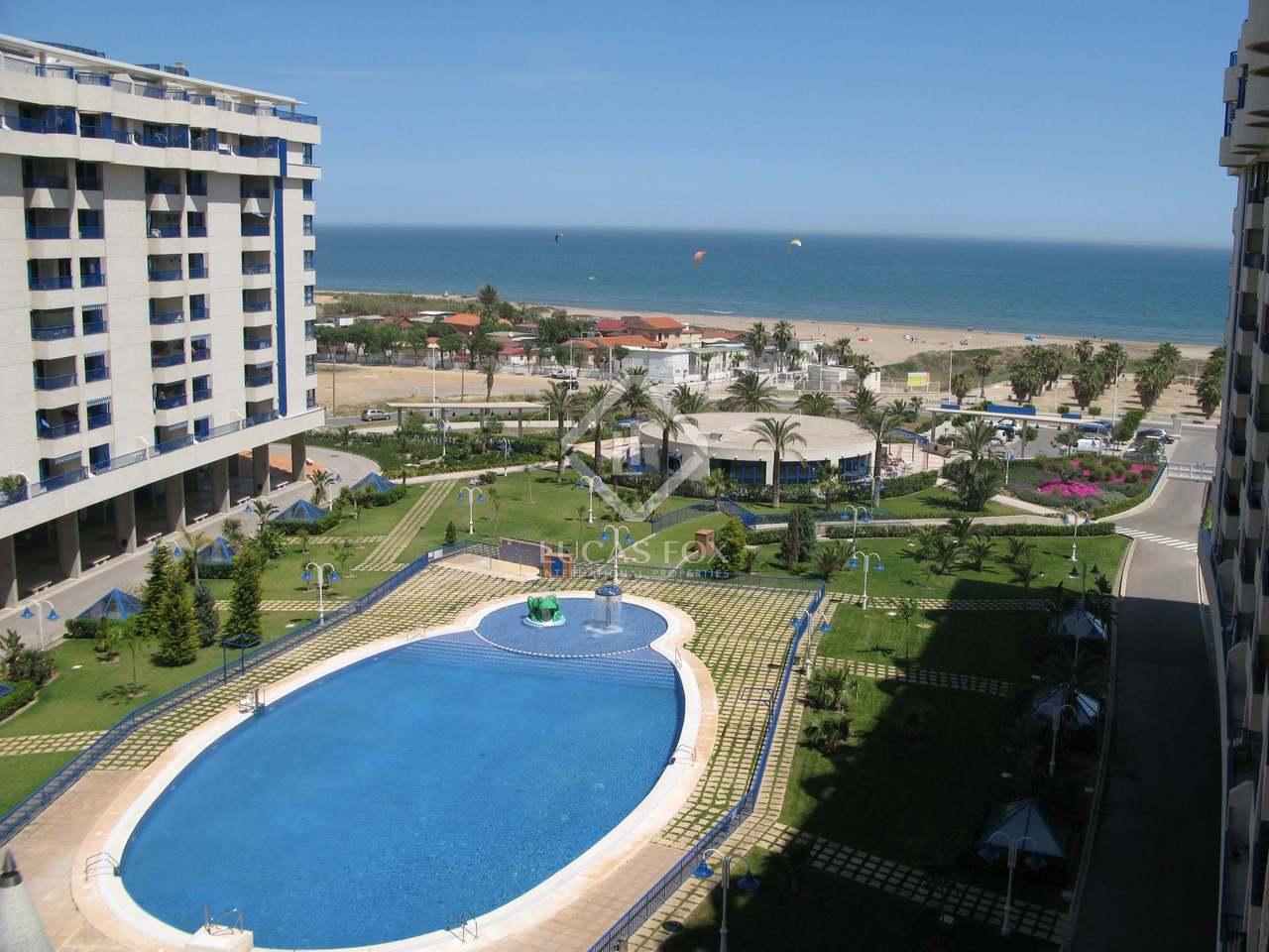 Apartamento de 97m con terraza en venta en playa patacona for Piscina patacona