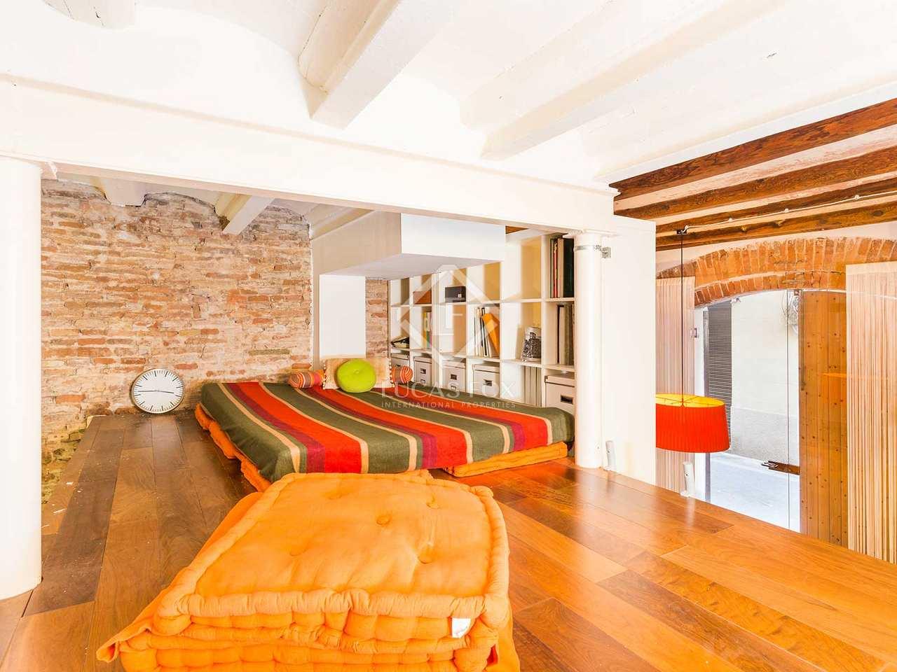 Appartement de 52m a louer gr cia avec 20m terrasse for Appartement a louer a barcelone avec piscine
