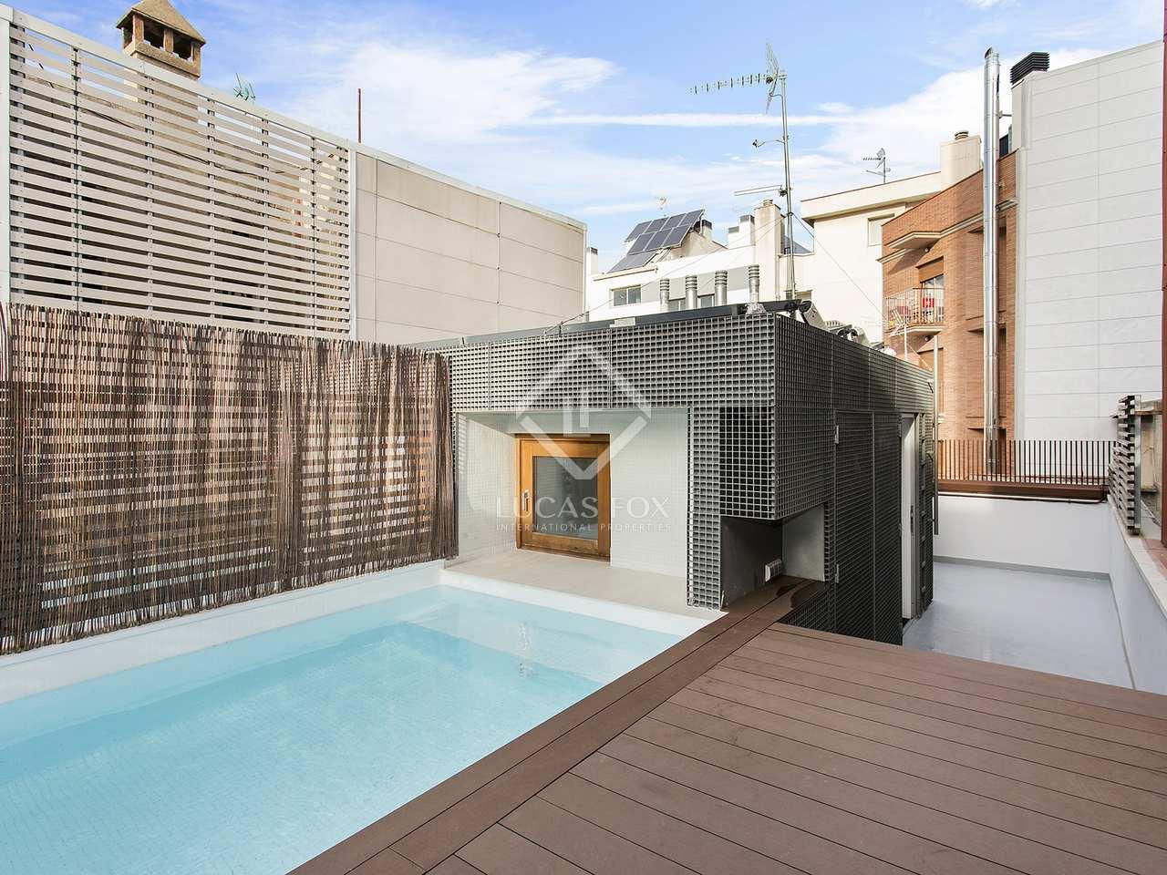 maison villa de 160m a louer poblenou barcelone. Black Bedroom Furniture Sets. Home Design Ideas