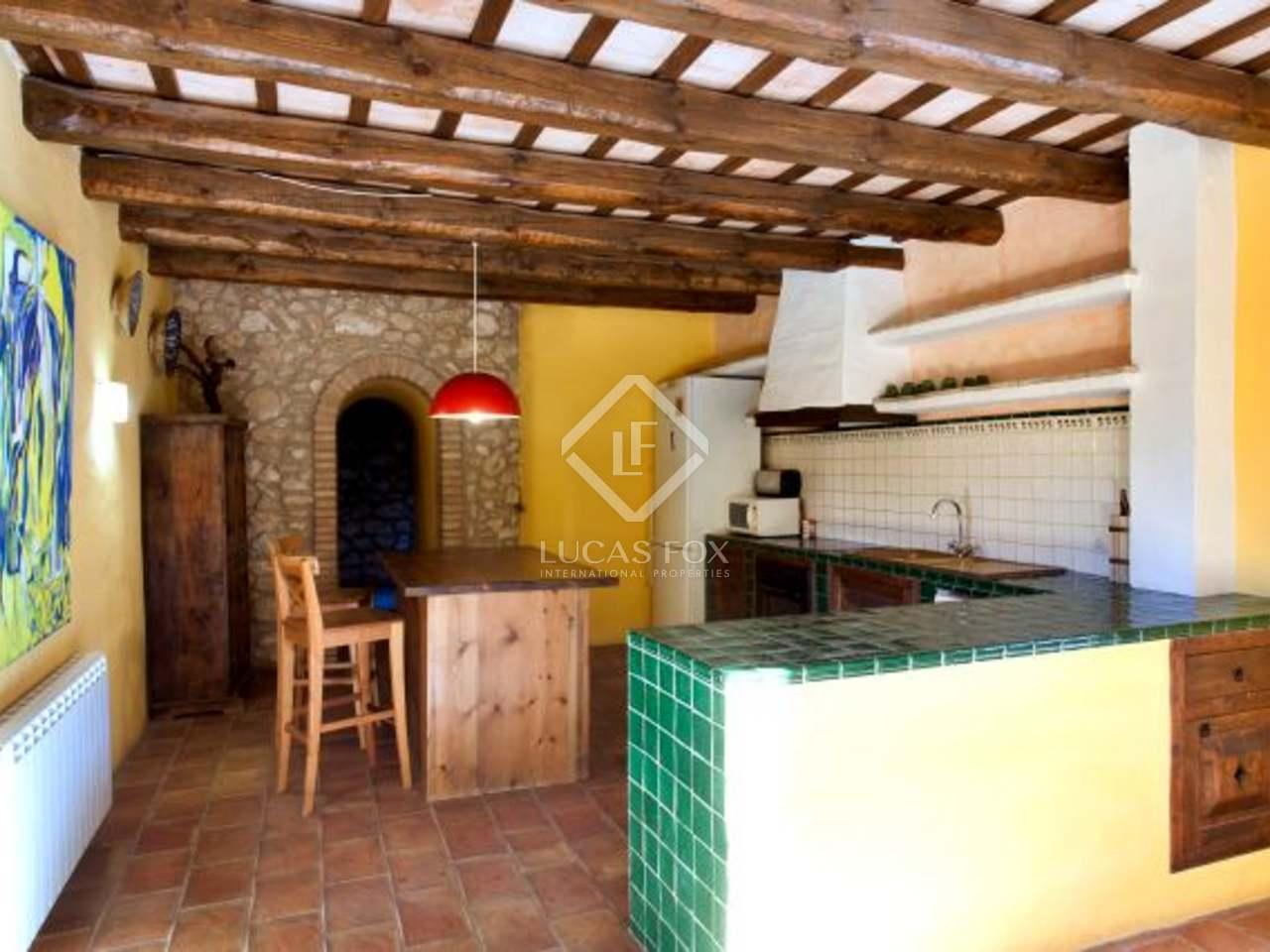 Casas rurales rodeadas de vi edos en venta cerca de sitges - Casas rurales con piscina cerca de madrid ...