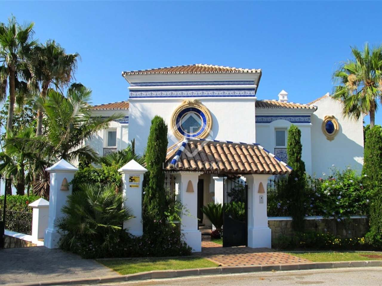 Villa de lujo en venta en benahav s marbella - Casas de lujo en marbella ...